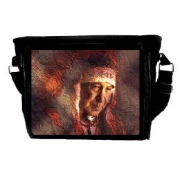 Native American Indian Warrior Chief Themed Shoulder Bag